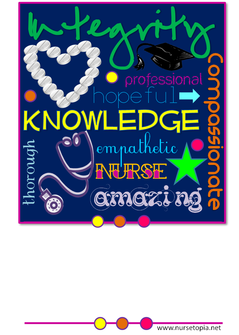 Diy nurse appreciation gifts and printable cards roundup nursetopia tomorrow begins oncology nursing month and next week may 6 12 is nurses week have a finite amount of dough in comparison to the seemingly infinite m4hsunfo