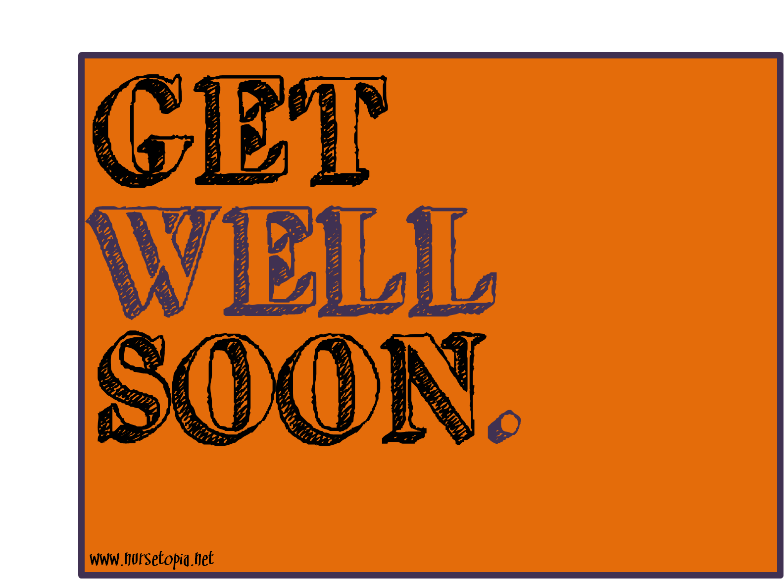 picture relating to Get Well Soon Printable Cards identify Buy Effectively Before long [Printable Card] Nursetopia